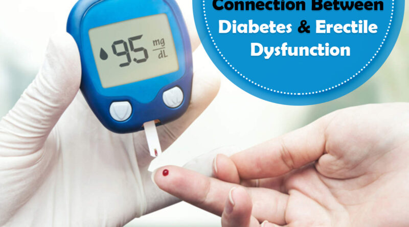Connection between Diabetes & Erectile Dysfunction, Genmedicare