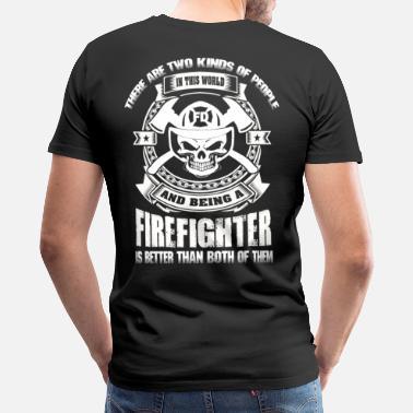 T shirt for firefighter