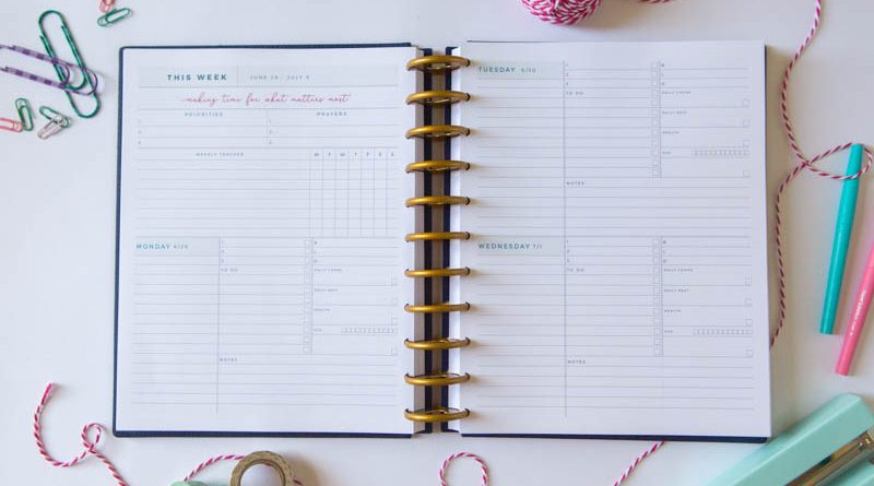 Our Faith Planner Can Help You Remember 3 Key Things